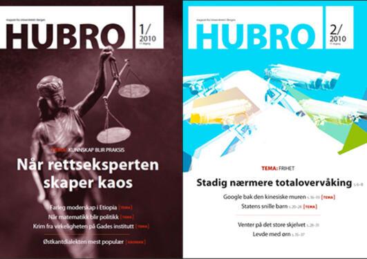 Hubro 2010, utgave nr 1 og nr 2