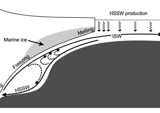 Ice shelf cavity processes