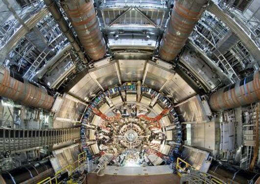 ATLAS-detektoren under installasjon