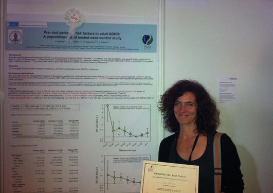 Anne Halmøy vant pris for beste poster