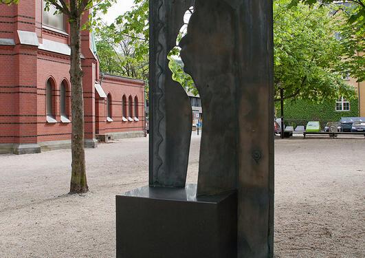 Gunnar Torvund: Åpen II, 1995.