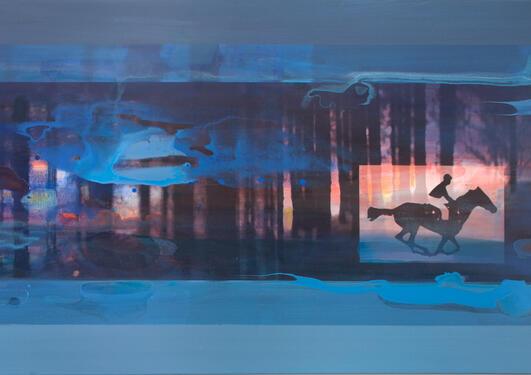 Jannecke Lønne Christiansen: Natt og dag (Night and day), 2007.