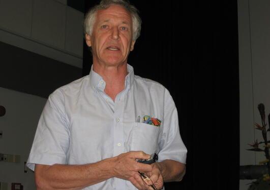 SAMLA DATA: Som klinikar samla William Howlett nok systematiske data kring...