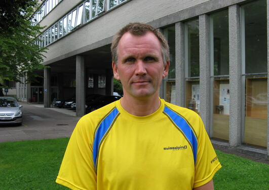 Instituttleder Jan Petter Hansen gleder seg til 60-årsmarkeringen for IFT.