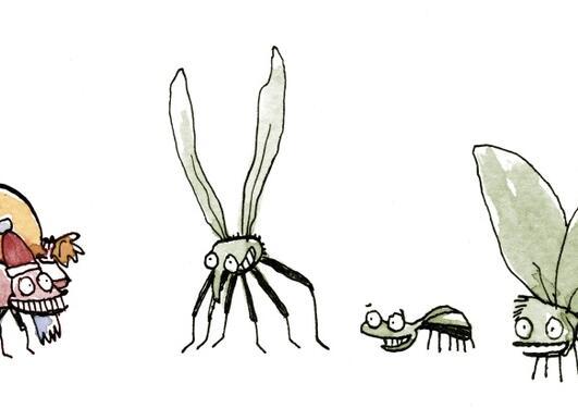 Insekter i juletreet
