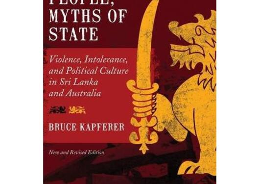 """Cover of the book """"Legends of people, myths of state"""""""