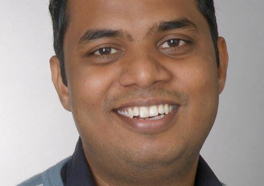 Portrait of Kirankumar Katta.