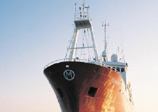 Siden 1948 har skipet Polarfront foretatt daglige meteorologiske og...