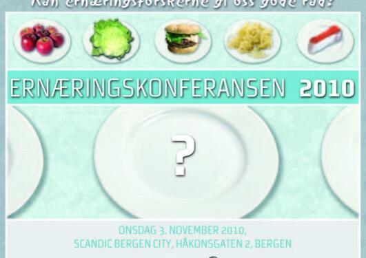 Ernæringskonferansen 2010 ble arrangert 3. november og var en stor suksess