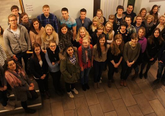 Kull 87 er dei første psykologstudentane som startar på den reviderte...