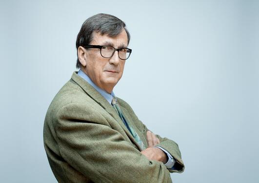 Bruno Latour mottar Holbergprisen 2013, samme år som prisen fyller 10 år.
