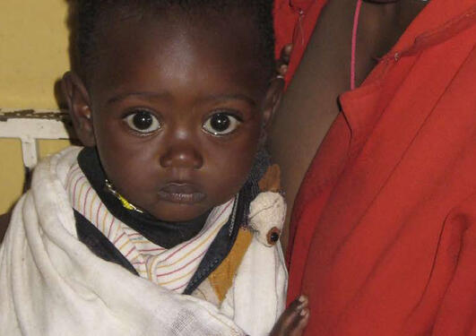 Barn fra afrika