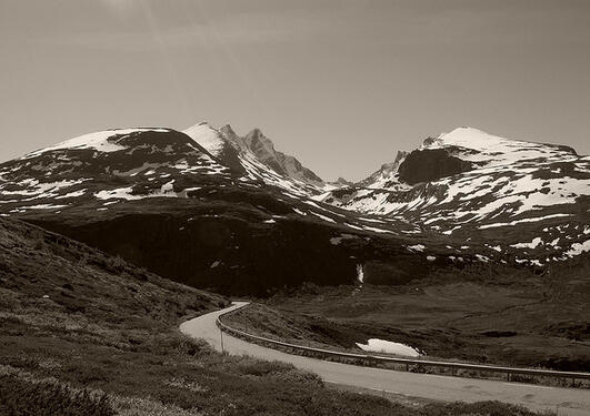 Mountains in N Norway