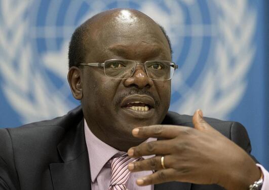 PROMOTING FAIRER TRADE: Dr. Mukhisa Kituyi from Kenya was educated at UiB in...