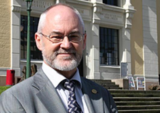 Sigmund Grønmo, rektor ved Universitetet i Bergen