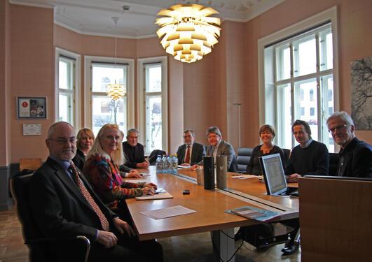 Det nasjonale rådet for museumsprosjektet møttes på Muséplass tirsdag denne...