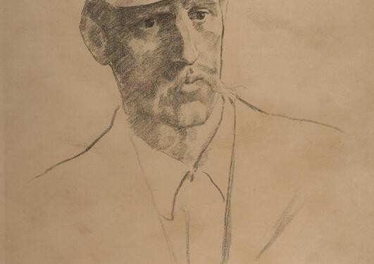 Erik Werenskiold: Fridtjof Nansen.