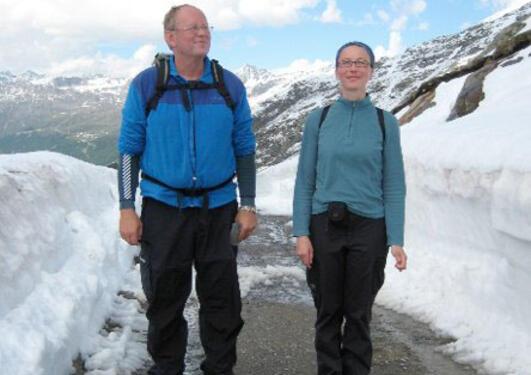 Atle Nesje and Henriette Linge