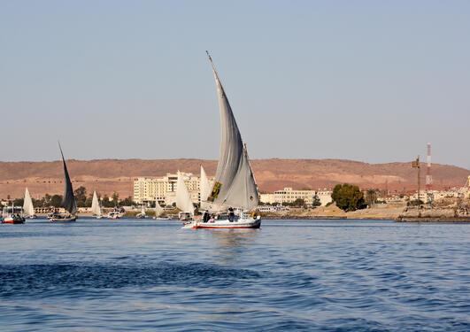 Nilen holder millioner av mennesker i live.