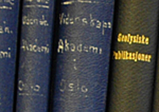 Yearbooks of the Norwegian Academy of Science and Letters.
