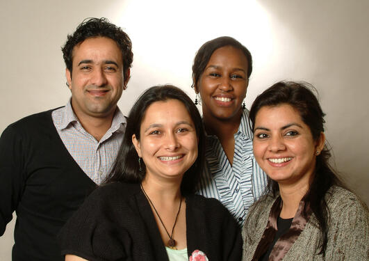 Nye PhD kandidater ved IKO høsten 2011 Al-Sharabi, Suliman, Bartaula og Sharma