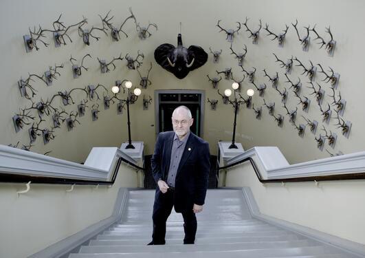 Rektor Sigmund Grønmo fra Universitetet i Bergen er ny styreleder i Ludvig...