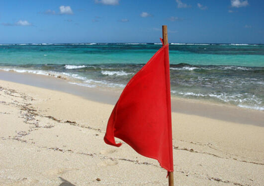 Rødt flagg
