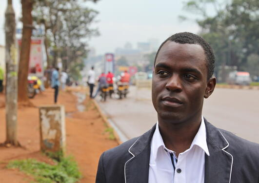 Rafto prize winner 2011 Frank Mugisha of Sexual Minorities Uganda ( SMUG )