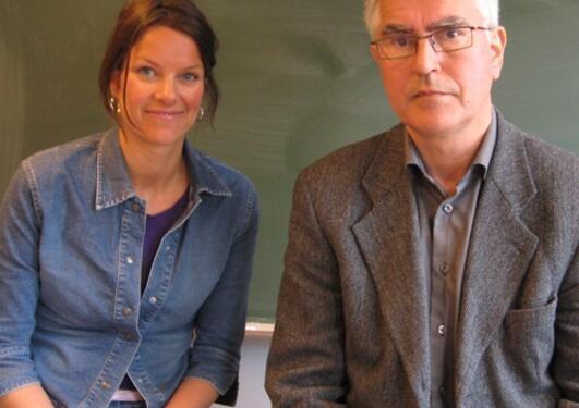 Jøri Gytre Horverak og Jon Christian Laberg er henholdsvis sekretær og leder...