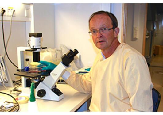 Professor Rolf Bjerkvig og senteret hans har fått ei unik tildeling i norsk...