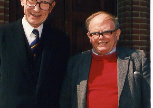"""Russell og Burch: Forfatterne av """"The Principles of Humane Experimental..."""