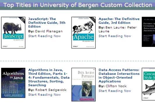 E-bøker fra Safari