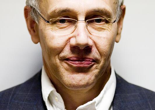 Professor Harm Schröter.