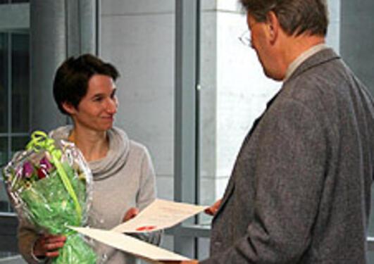 Silke Appel er en av deltakerne i lederprogrammet. Hun fikk i 2007 innvilget...