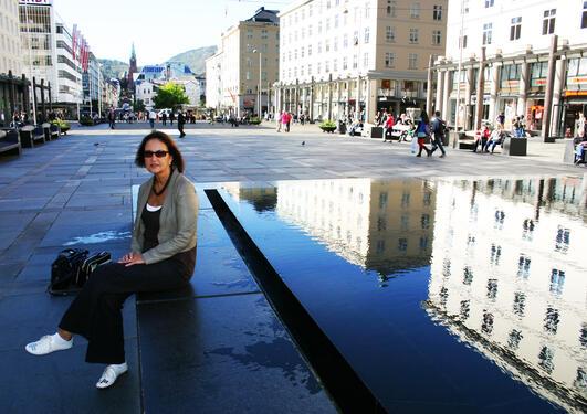 "UHARMONISK: Førsteamanuensis i kunsthistorie Siri Skjold Lexau synes ""nye""..."