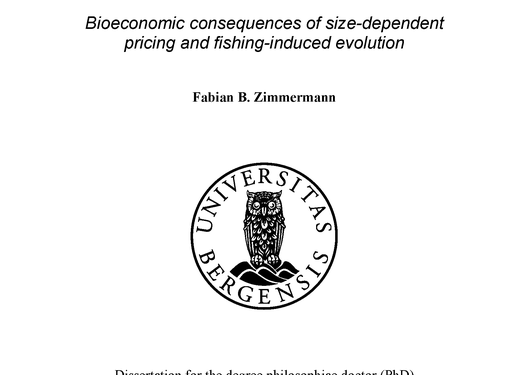 The value of size. Bioeconomic consequences of size-dependent pricing and...