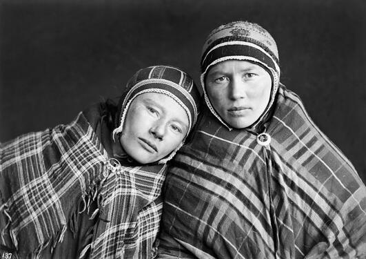 Sophus Tromholt var ein av dei første som dokumenterte samisk folk og kultur.