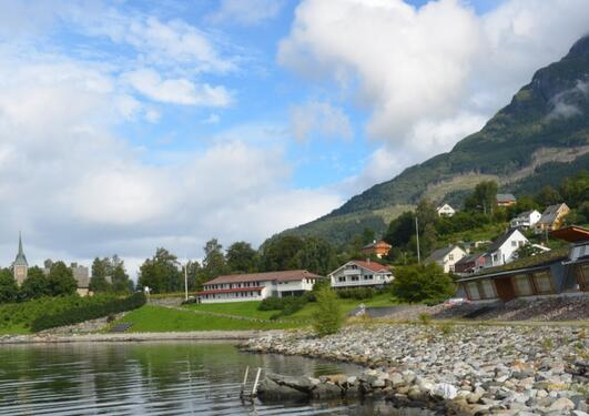 Bioforsk-Ullensvang research station at Hardanger fjord in Lofthus