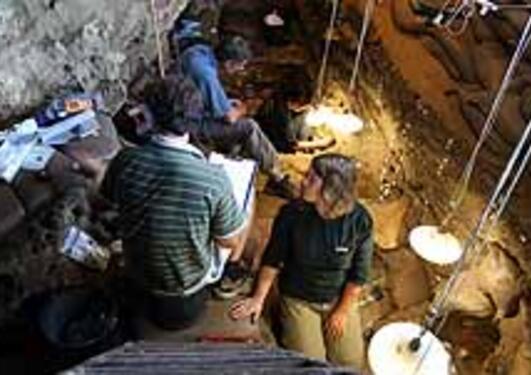 UiB administerer feltskole for arkeologistudenter i Sør-Afrika. Mange...