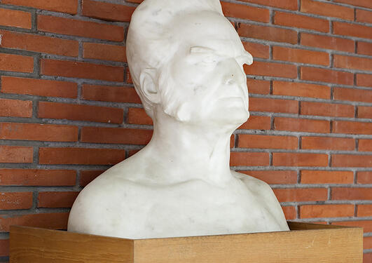 Gustav Vigeland: Bjørnstjerne Bjørnson, 1901.