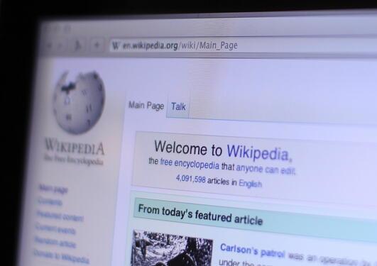 Wikipedia og andre internettbaserte encyclopedia kan oppdaterast av alle.