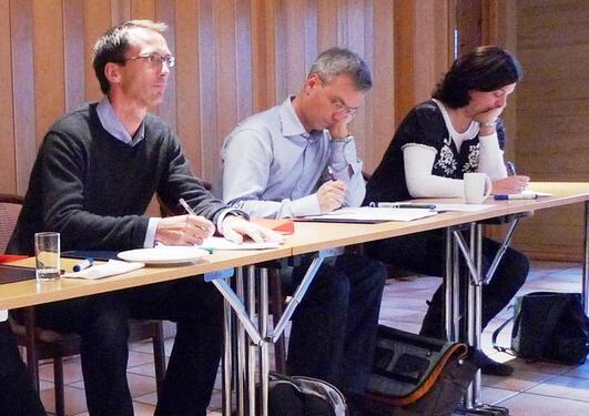 Åpningssamling for deltakerne i program for yngre forskningsledere, 30...