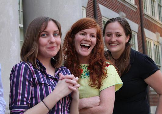 Studenter fra West Virginia som gleder seg til å komme til UiB