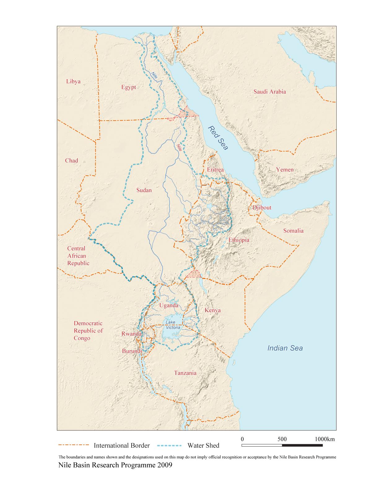 Maps Of The Nile Basin University Of Bergen - Kenya rivers map